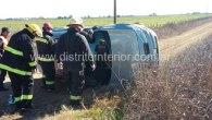 El accidente se produjo esta mañana a las 11:50 horas cuando Daniela Cabana, de 34 años, quien se domicilia en Coronel Charlone, salía de esalocalidad hacia Emilio V. Bunge a […]