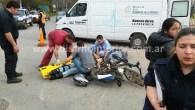 Ocurrió a las 16:30 horas en Mitre y Azcuénaga, en el lugar tal como se observa en la imagen de portada, una persona es asistida por personal del Hospital. Hubo […]