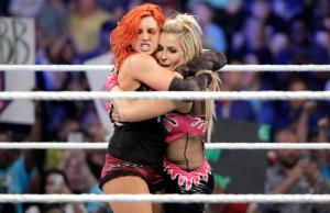 Natalya Neidhart Becky Lynch Smackdown May 05 05 2016