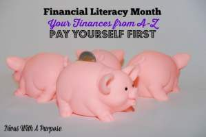 Pay Yourself First: Your Finances from A-Z