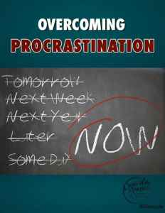 14 Tips For Overcoming Procrastination