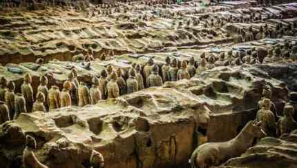Terracotta Army Warriors China Pit 1