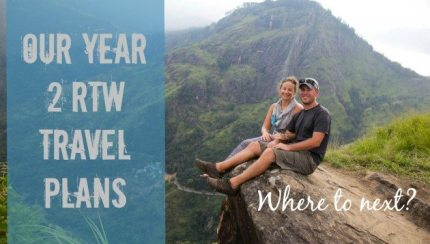 Year 2 RTW Travel Plans Divergent Travelers