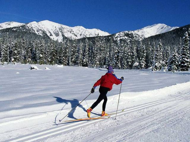 Cross country skiing sport_028