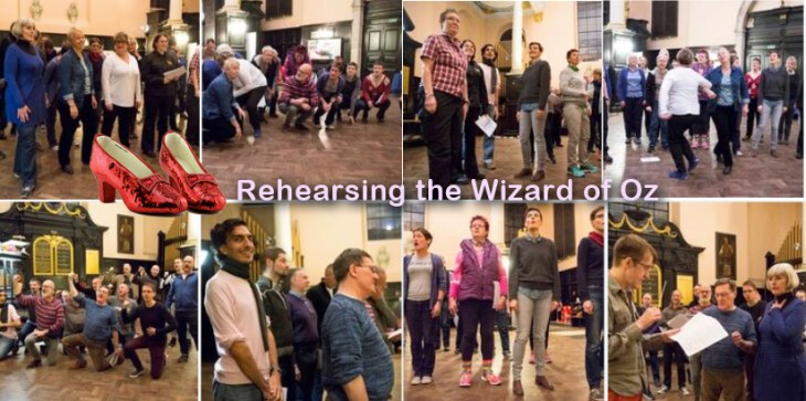 Rehearsing the Wizard of Oz