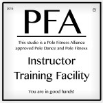 2015 PFA Approved Instructor Training Facility