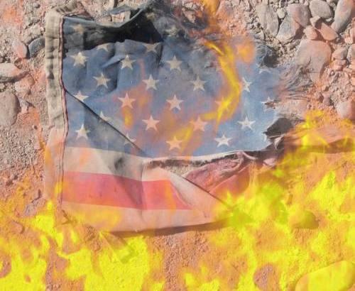 The American Flag ~ Burn Baby Burn?