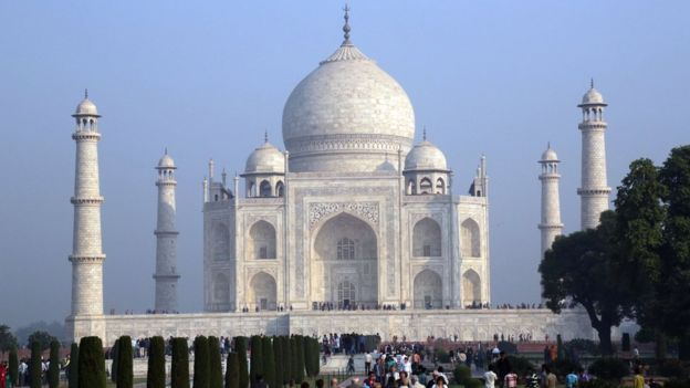 Why is the Taj Mahal turning green? And what is India doing about it