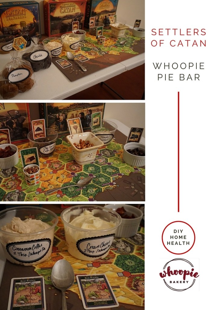 Settlers of Catan Whoopie Pie Bar