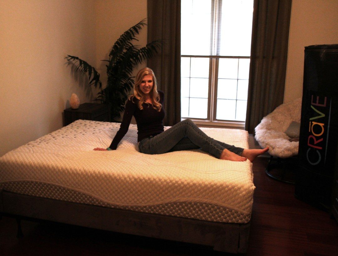 Alicia on the best mattress in a box - crave mattress