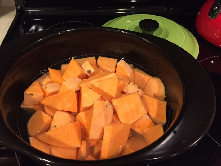 Sweet potato side dish for Thanksgiving