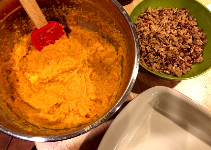 Mashed Sweet Potato recipe