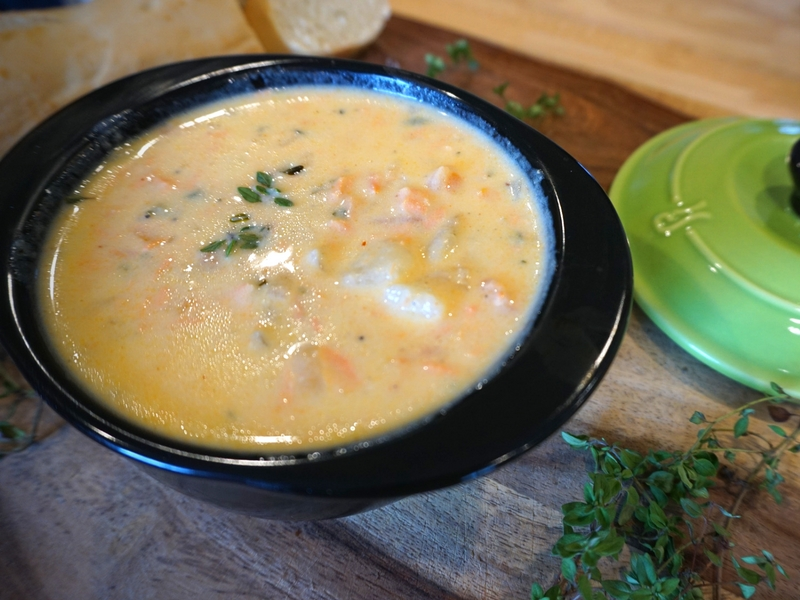 Best fish chowder recipe