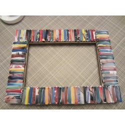 Marvelous Recycled Magazine Frame Diy Inspired How To Make A Framed Crayon Letter How To Make A Framework