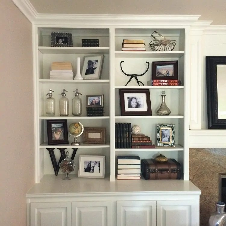 Bookshelf D    cor Ideas   DIY Inspired How to Decorate Bookshelves