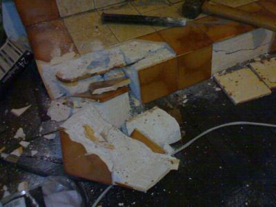 Possible asbestos in fireplace? | DIYnot Forums
