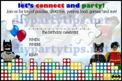 Small Of Lego Birthday Invitations