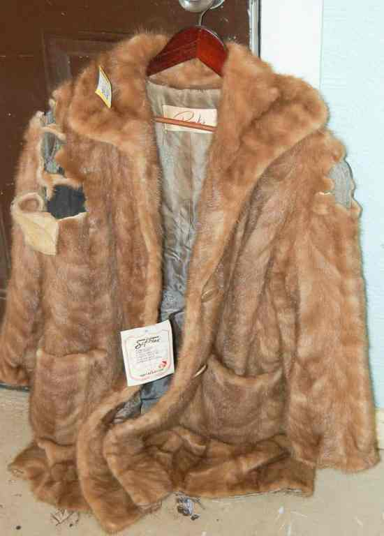 How to upcycle an old fur coat
