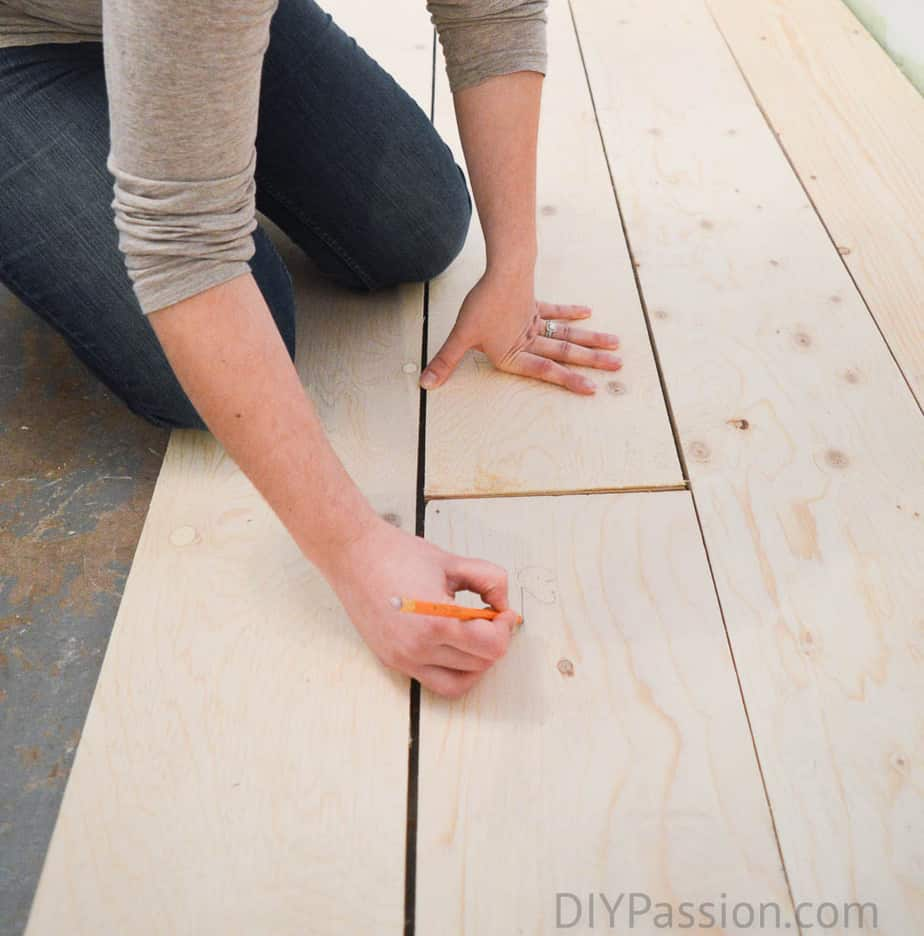 How to Install a Barn Board Floor over Concrete | Tutorial
