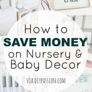 Save on Nursery Decor!