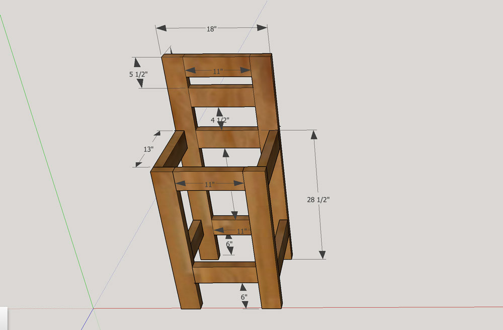 Patio Bar Chair Plans Build Your Own Bar Stools L56