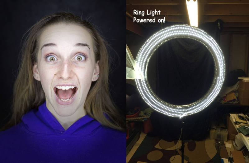 Large Of Ring Light Photography