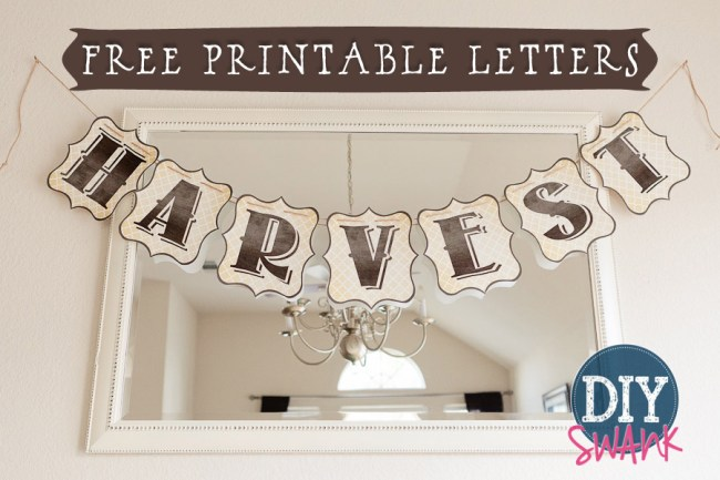 Free Printable Letters