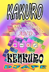 Kakuro_ and Kenkuro_ book, 200 puzzles
