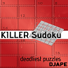 Killer_Sudoku for Kindle, deadliest puzzles