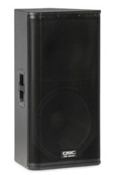 "QSC 15"" Top Speakers"