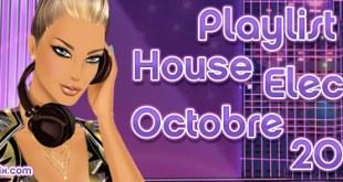 Playlist House Electro Octobre 2012