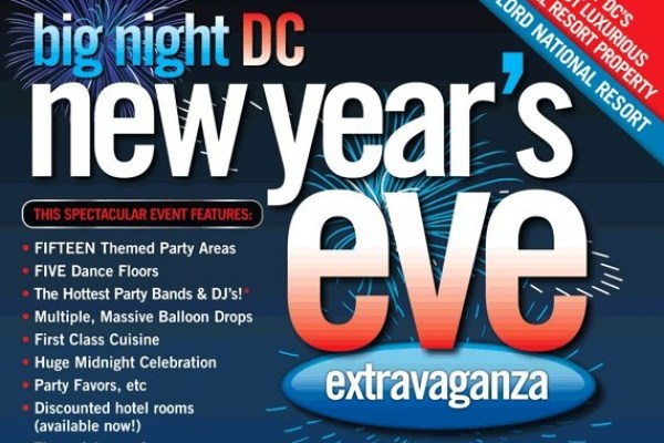 DJ Maskell at Big Night DC New Years Eve at the Massive Gaylord National Harbor!