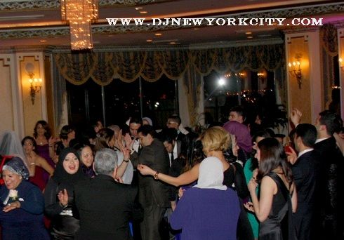 Photo of an Arabic wedding at Terrace on the Park.