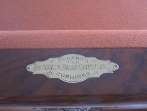 head rail nameplate