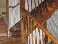 here we go upstairs
