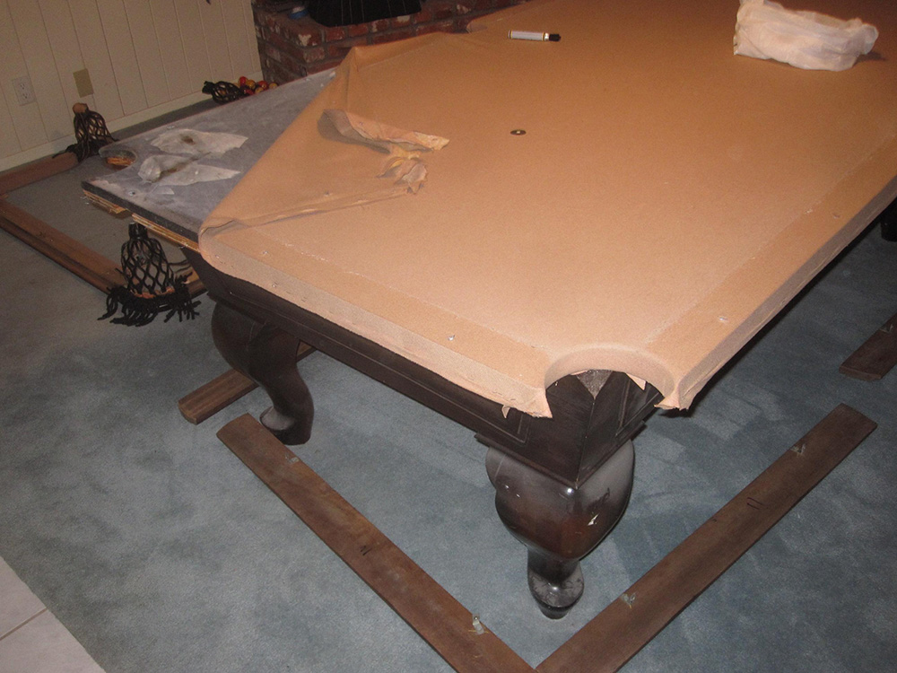how to disassemble and store your pool table dk