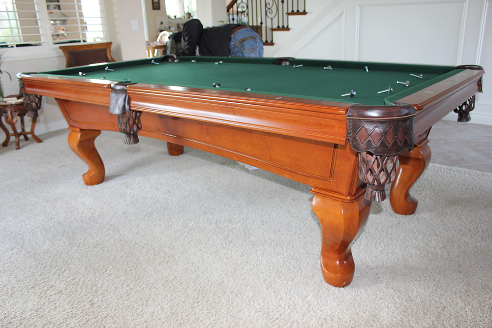 used pool table buyers beware of dead cushions dk billiards pool table movers repair. Black Bedroom Furniture Sets. Home Design Ideas