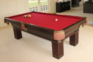 Completed Pool Table