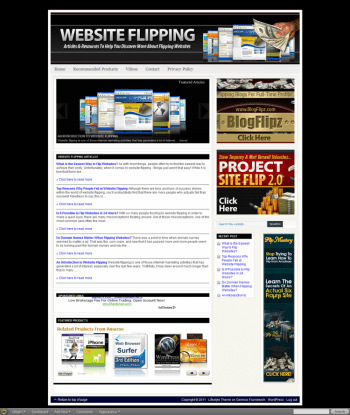 making money flipping websites