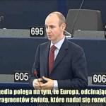 Daniel Hannan: UE czyni siebie samą gospodarczo nieistotną