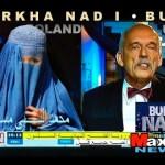 Burka nad i