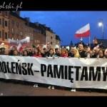Marsz Pamięci i Apel przed Pałacem Prezydenckim – 10.05.2015
