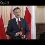 Akt wyboru na Prezydenta RP dla Andrzeja Dudy