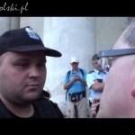 Wykład Grzegorza Brauna dla policjanta z okazji dnia 22 lipca