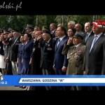 """Główne obchody wybuchu Powstania Warszawskiego: Godzina """"W"""""""