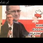 Grzegorz Braun w Oławie