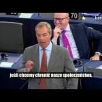 Nigel Farage: Ostrzegałem, że doprowadzicie do migracji o biblijnych proporcjach