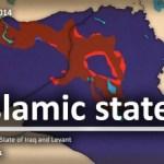 Państwo Islamskie (ISIS) na jednej mapie