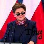 """Premier Szydło """"zgasiła"""" dziennikarza za zakupy męża w lumpeksie"""