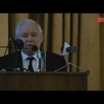 """Wykład Jarosława Kaczyńskiego – """"Środki społecznego przekazu w służbie dobra wspólnego"""""""